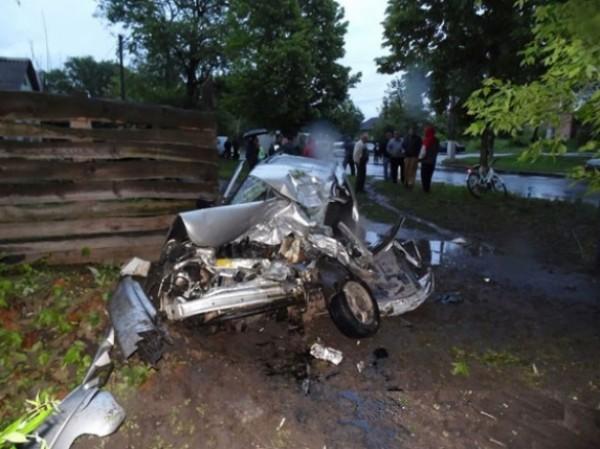 Смертельная авария в Прилуках