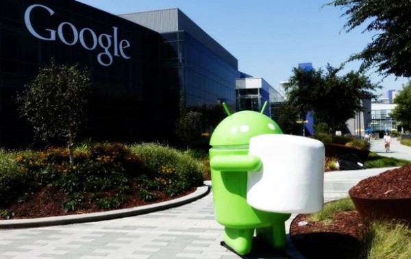 Статуя Android Marshmallow