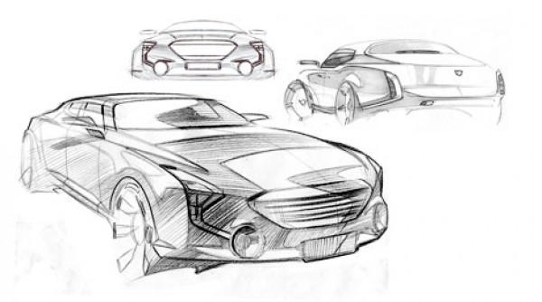 Иллюстрация седана Marussia L2