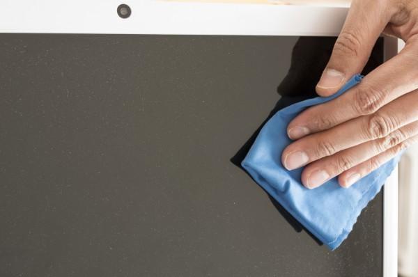 Как почистить экран монитора