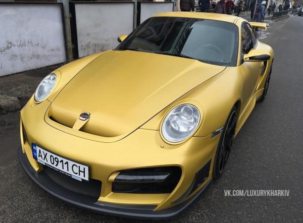 Porsche 997 Techart GT Street R в Харькове