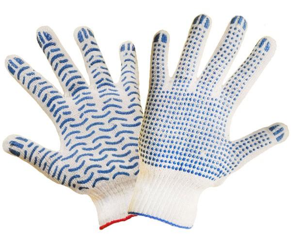 Точечное и волнистое покрытие перчаток