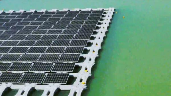 Солнечная электростанция на воде