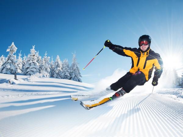 Как избежать травм при катании на лыжах