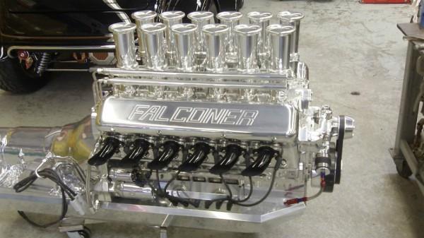Мотор необычного автомобилоя