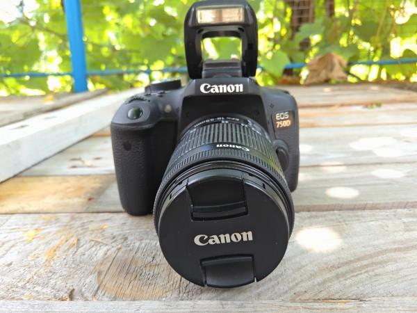 Обзор камеры Canon EOS 750D
