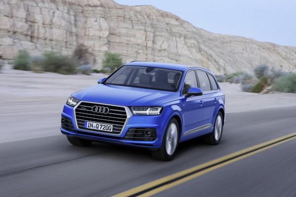 Интерьер и экстерьер новой Audi Q7