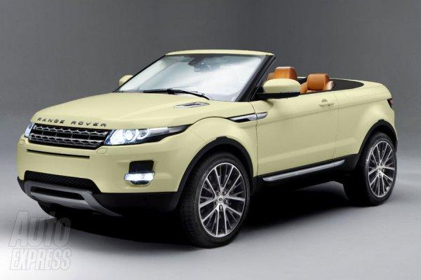 Неофициальная иллюстрация кроссовера-кабриолета Range Rover