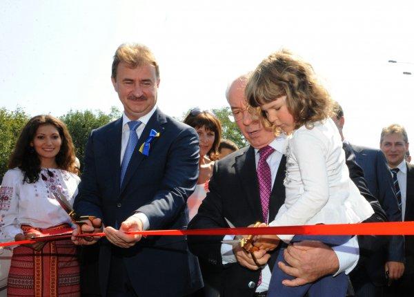 новый съезд с моста Кирпы