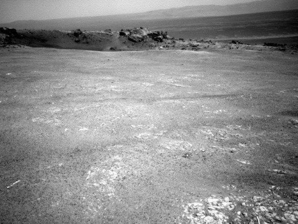 Еще один снимок кратера, сделанный в тот же день