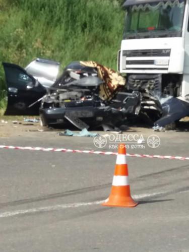 Смертельная авария под Одессой