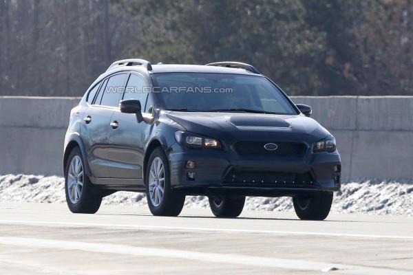 Прототип Subaru на тестах