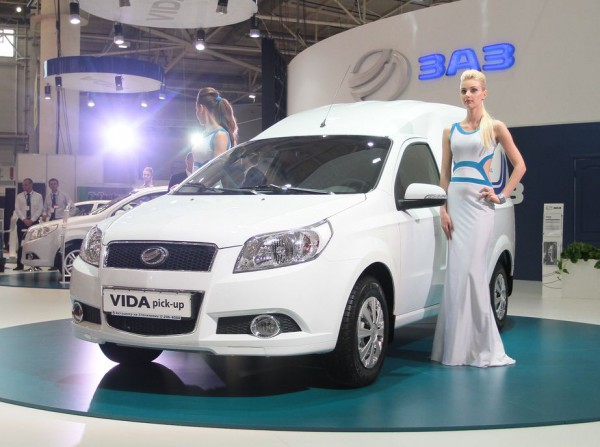 SIA 2013: ЗАЗ Vida Pick-up выйдет в конце года