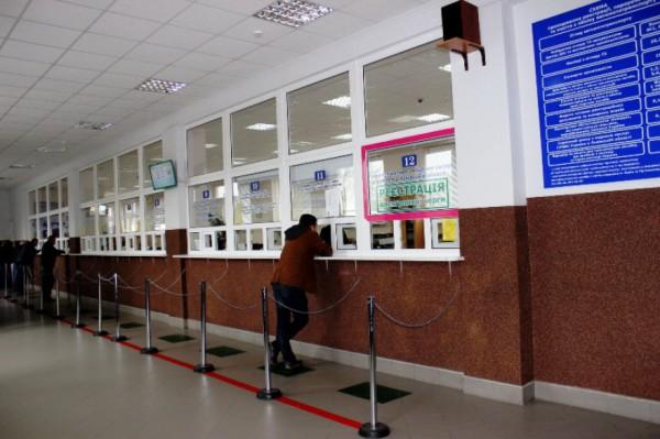 В Киеве закончились бланки техпаспортов