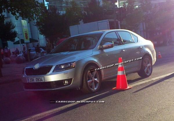 Новая Skoda Octavia в солнечном Чили