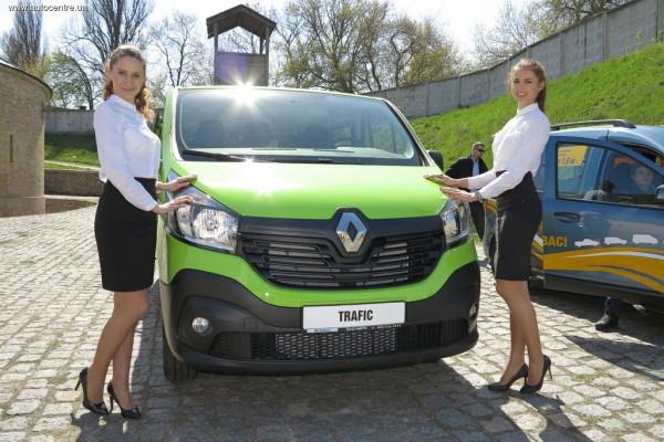 Презентация Renault Trafic
