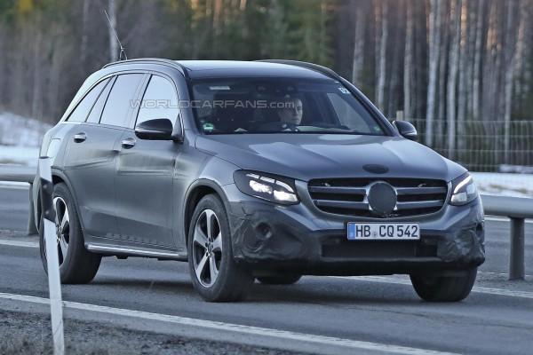 Тесты Mercedes-Benz GLC
