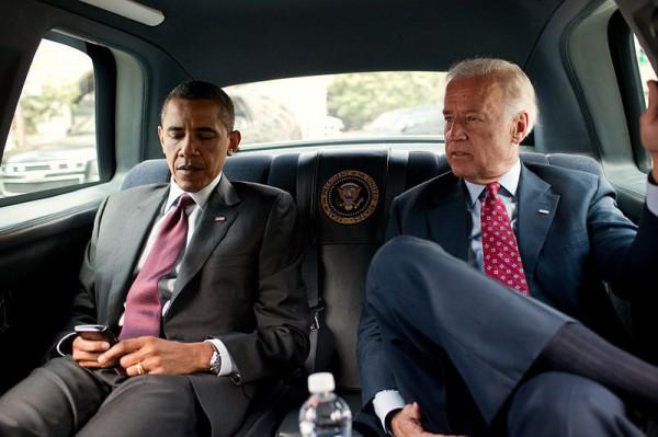 Президент США Барка Обама и вице-президент Джо Байден