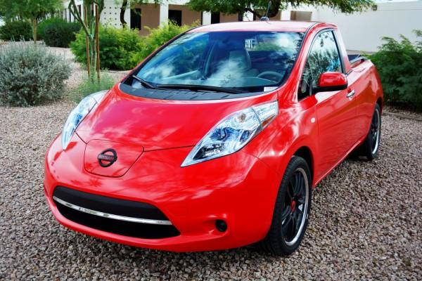 Nissan Sparky = Leaf + Navara