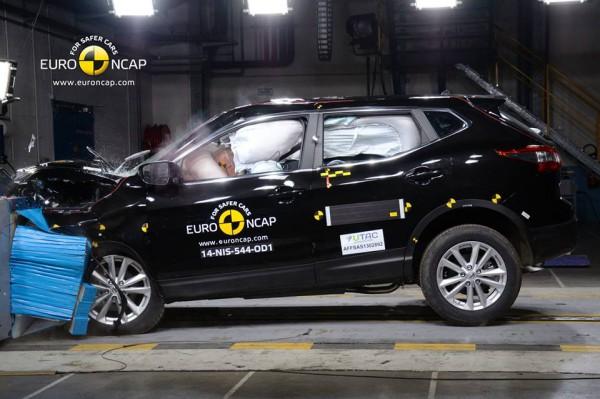 Краш-тест Nissan Qashqai