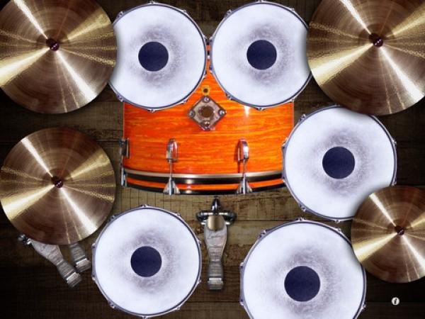 iPad превратили в барабан