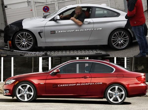 BMW 4-Series (вверху) и его предшественник (внизу)