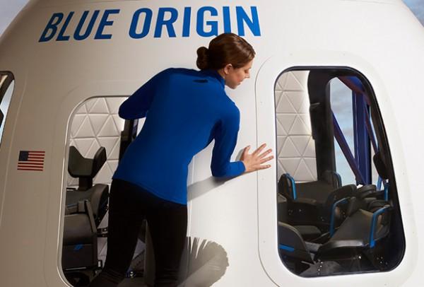 New Shepard - капсула, с помощью которой в Blue Origin планируют досталять туристов в космос