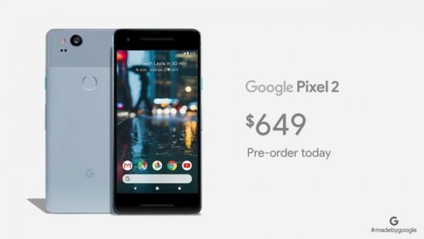 Цена на Pixel 2