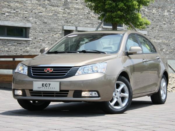 Geely Emgrand 7 назвали самым продаваемым авто