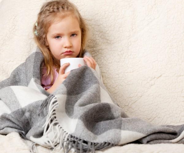 Как проводить профилактику простуды у ребенка