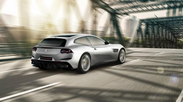 Феррари представила новый суперкар стурбомотором GTC4 Lusso T