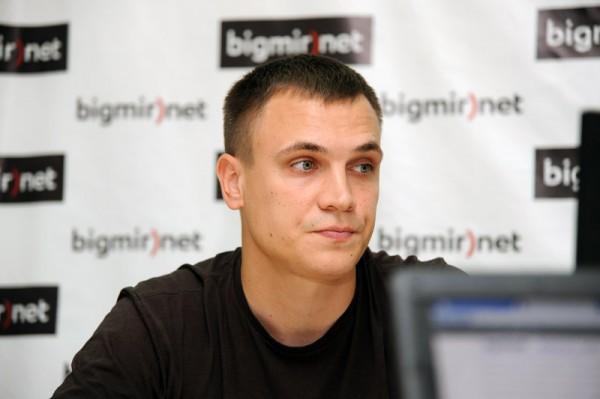 Волонтер Павел Кащук