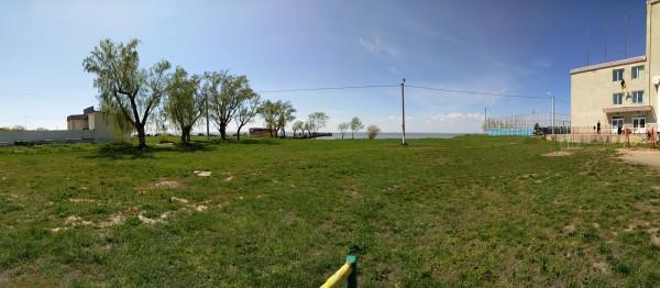 Панорамный снимок днем