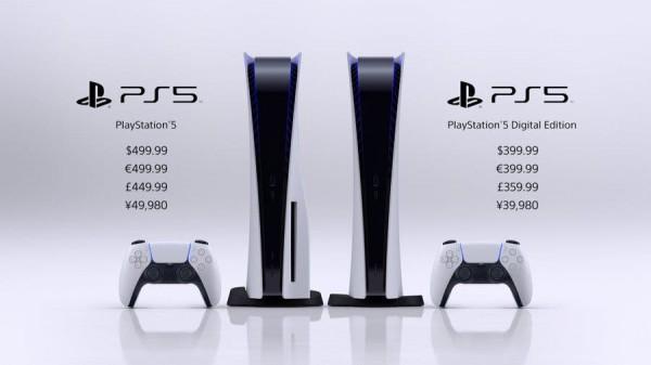 Стоимость Sony PlayStation 5