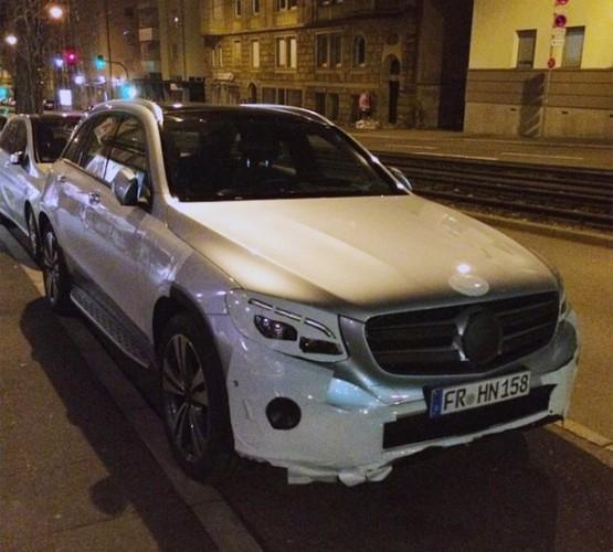 Mercedes GLC на тестах в Штутгарте