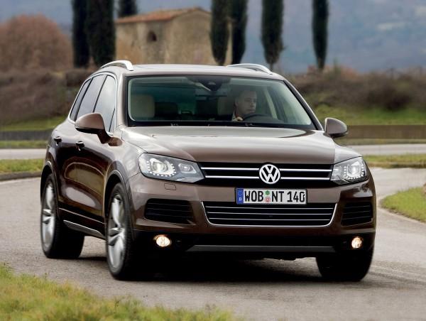 1. Volkswagen Touareg