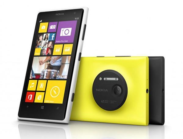 Nokia представила Lumia 1020 с 41-мегапиксельной камерой