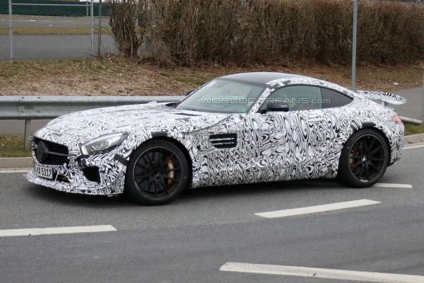 Экстремальный AMG GT
