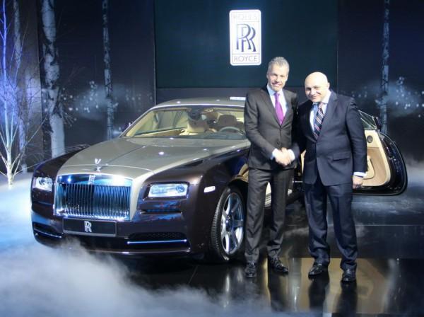 Wraith в Киеве представил лично глава компании Rolls-Royce