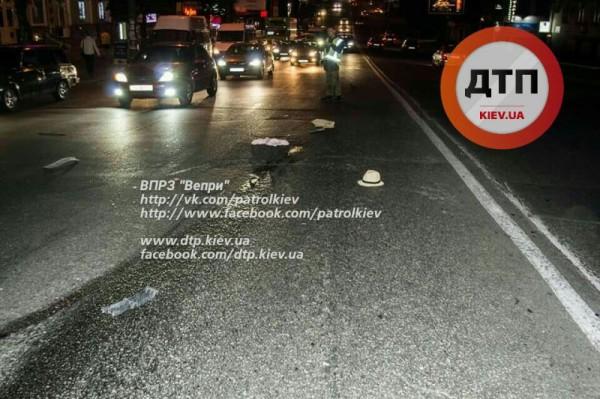 Смертельная авария в Киеве