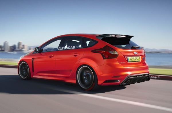 Привод у нового Ford Focus RS будет передний
