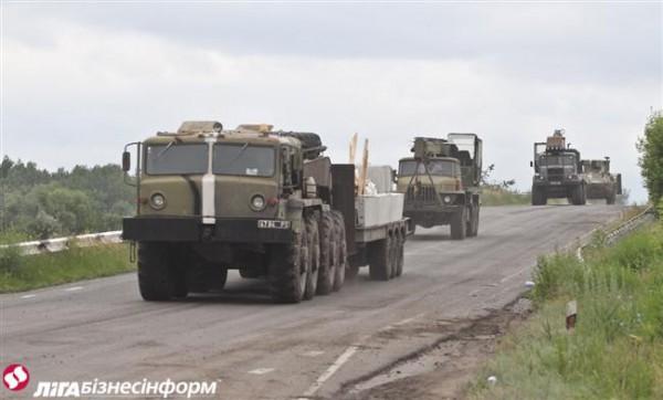 Военный грузовик сбил пешехода
