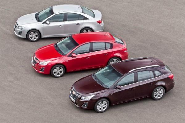 Chevrolet Cruze в следующем году станет украинским