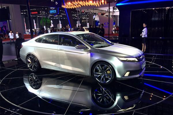 Автомобиль пойдет в серию в 2017 году