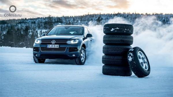 Тест зимних шин: шесть моделей размерностью 235/65 R17