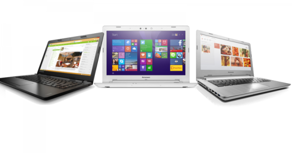 Lenovo показала сразу три ноутбука