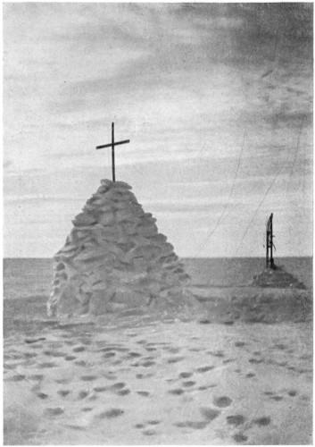 Могила Скотта и членов экспедиции
