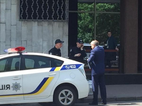 Патрульные составили протокол на министра Насалика