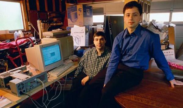Основатели Google Ларри Пейдж и Сергей Брин