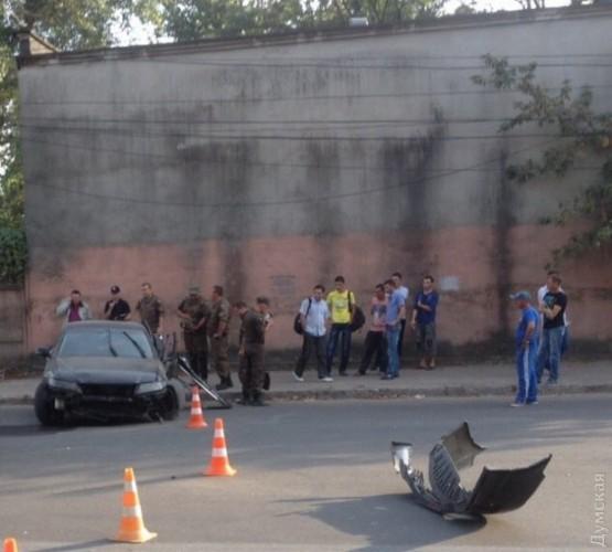 Смертельная авария в Одессе